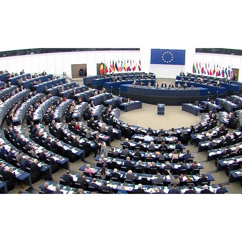 France - strasbourg - European parliament - 2016 - interiors - vote - MEP