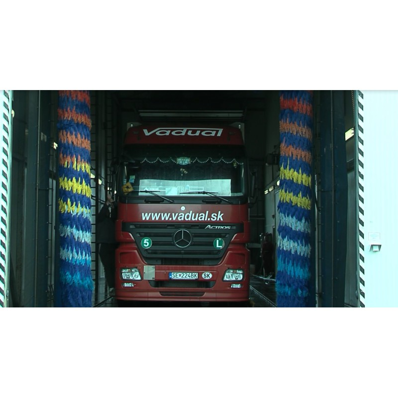 CR - transport - technology - truck - car wash