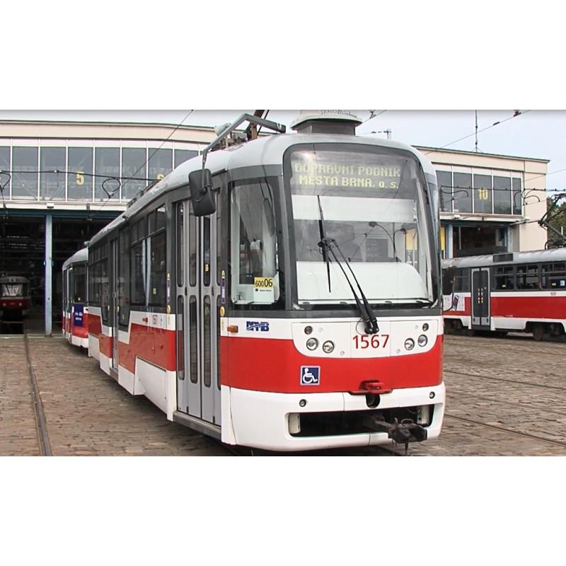 cr - BRNO - transport - tram - depot