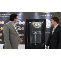 ČR - Praha - numismatika - nejdražší mince světa - Flowing Hair Liberty Dollar - výstava - Národní muzeum