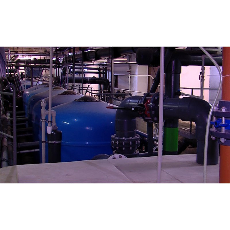 CR - technology - engine room - water treatment