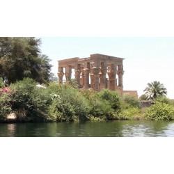 Egypt - Asuán - Nil - chrámy - přehrada