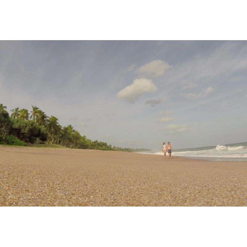 Sri Lanka - beach - ocean - time-lapse - 500x faster