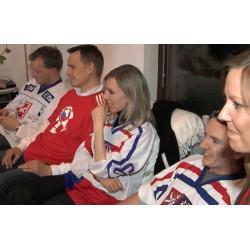 ČR - hokej - fanoušci - restaurace - domácnosti