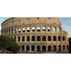 Itálie - Řím - časosběr - památky - historie - Koloseum - obloha - originálni délka