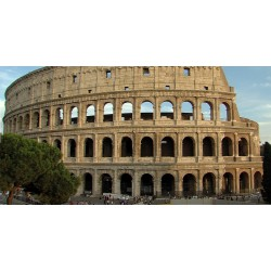 Italy - Rome - time-lapse - sight - history - Coloseum - sky - original length