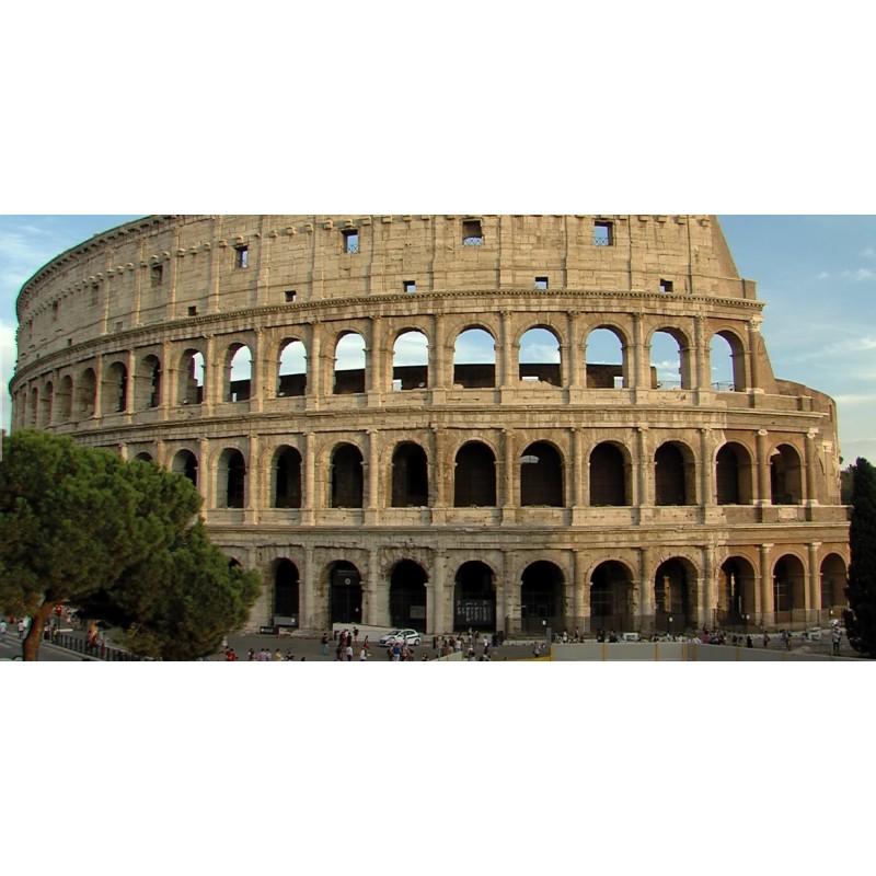 Italy - Rome - time-lapse - sight - history - Coloseum - sky - original length