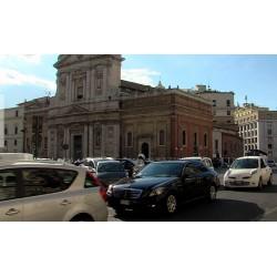 Itálie - Řím - časosběr - doprava - originální délka