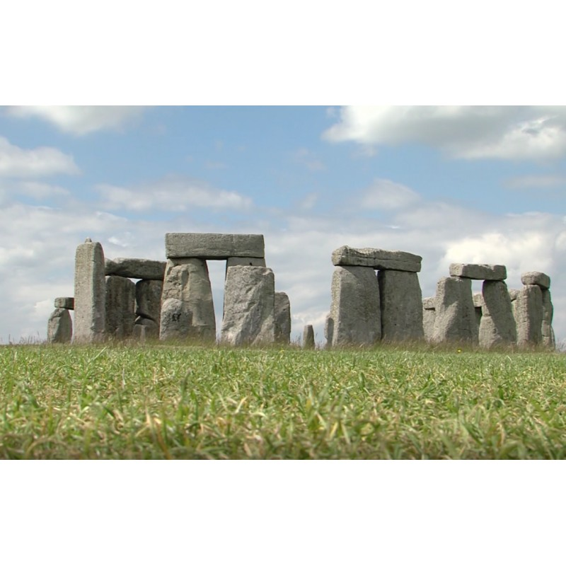 Great Britain - Stonehenge - sights - timelapse - 1000x faster