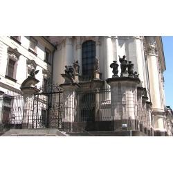 ČR - Praha - budova - Kostel svatého Cyrila a Metoděje - druhá světová válka - parašutisté
