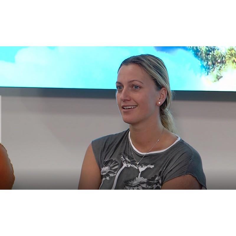 CR - news - sport - tennis - health care - hospital - Petra Kvitová - tennis player - press conference