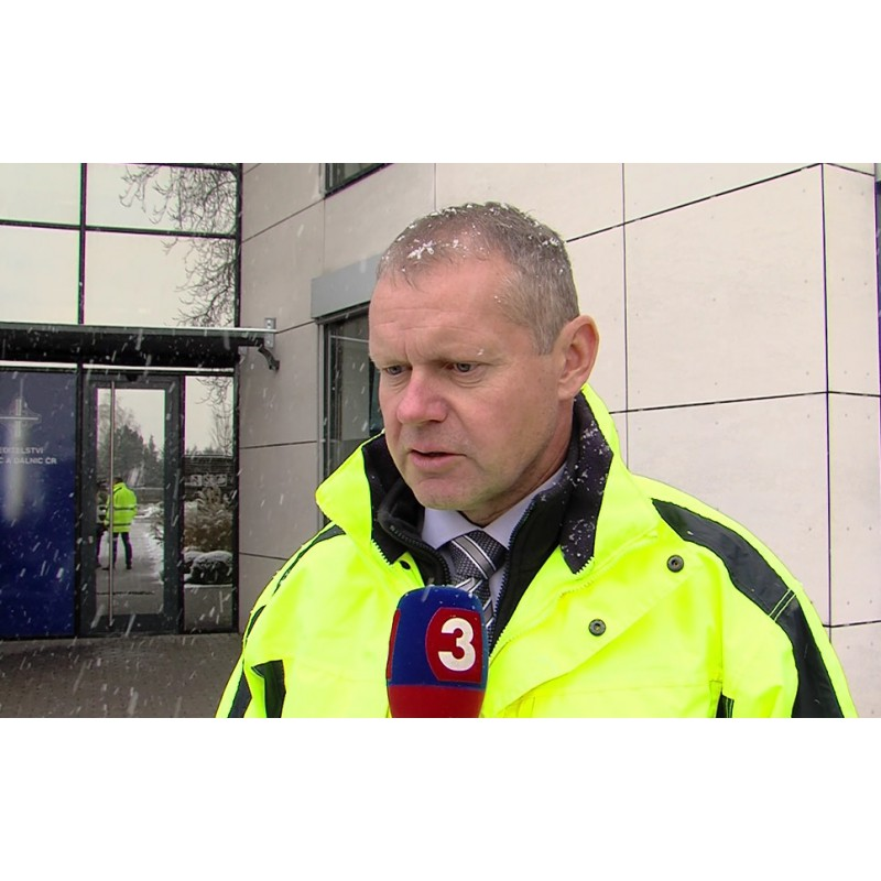 CR - news - transport - weather - negotiability - winter - snow - Jan Rydl - ŘSD
