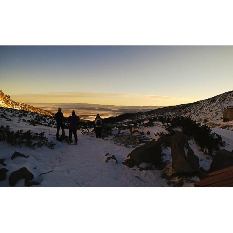 Slovakia - time-lapse - nature - Tatras - High - sunset - sun - snow - sky - night - New Year´s Eve