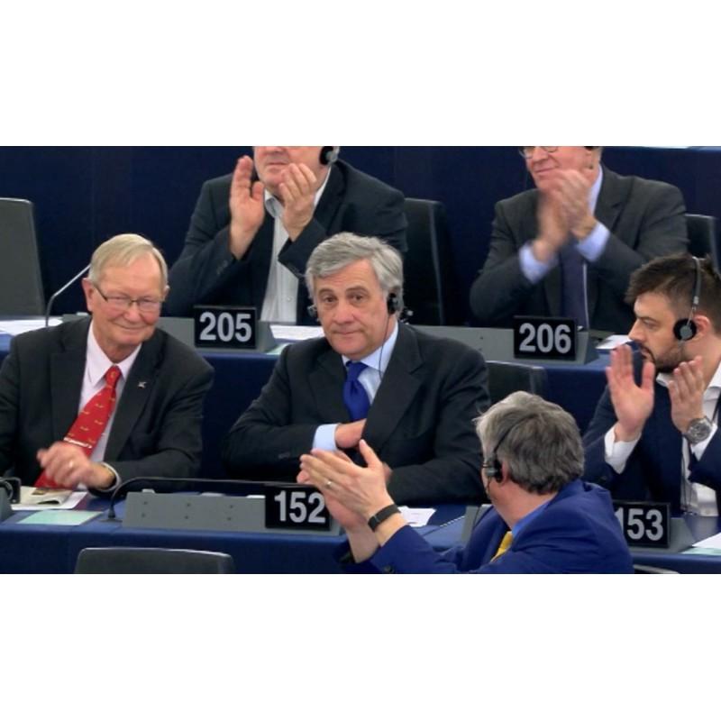 France - Strasbourg - politics - people - European Parliament - election - chairman - Antonio Tajani