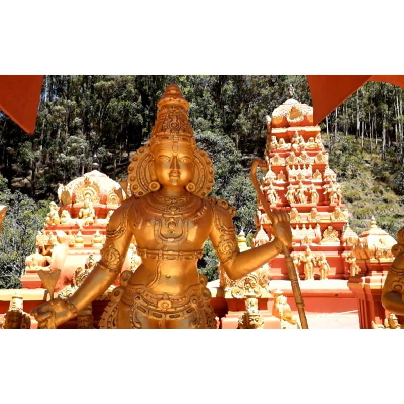 Sri Lanka - travelling - buildings - religion - temple - Buddha - the faithfull - tourists