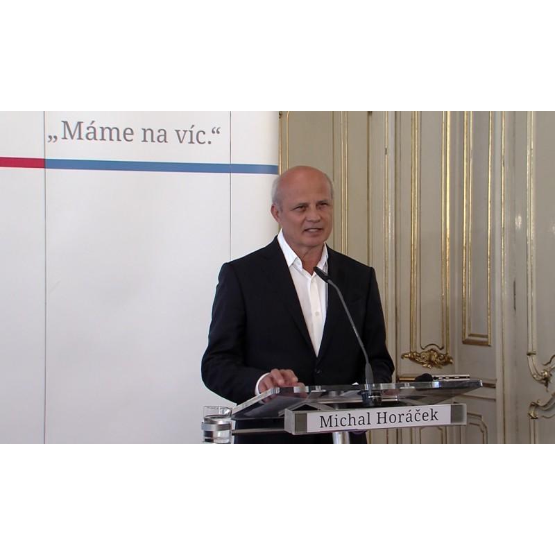 News - CR - people - Michal Horáček - politics - presidential candidate - press conference