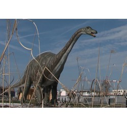 ČR - Praha - dinosauři - sochy