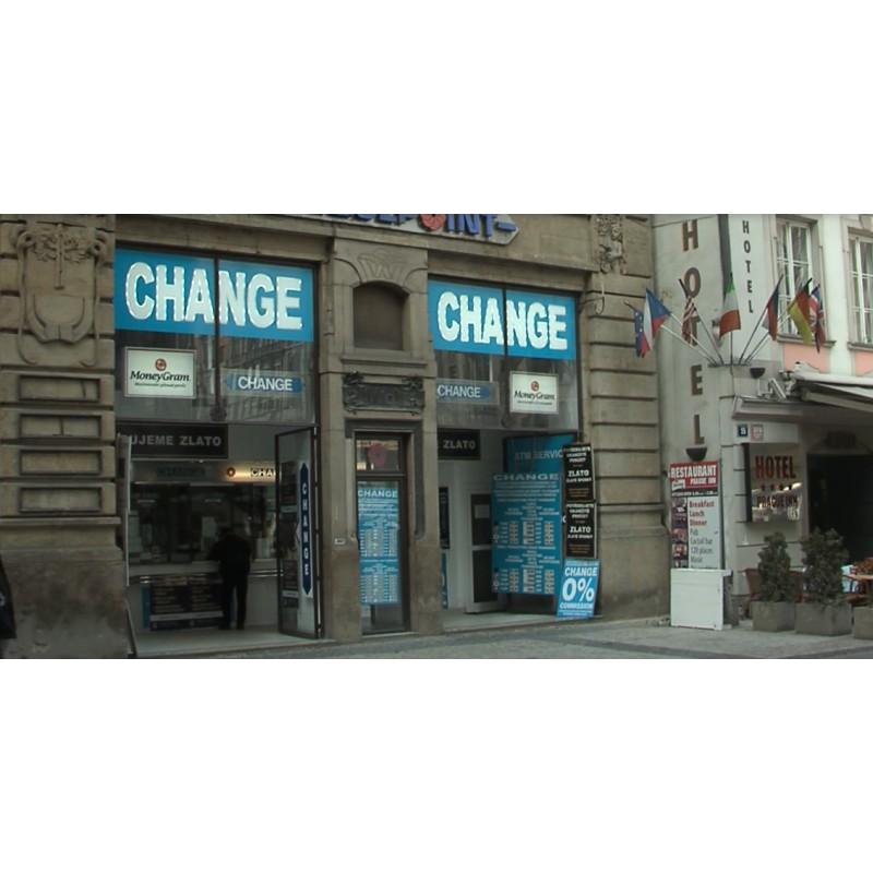 CR - Prague - Exchange offices