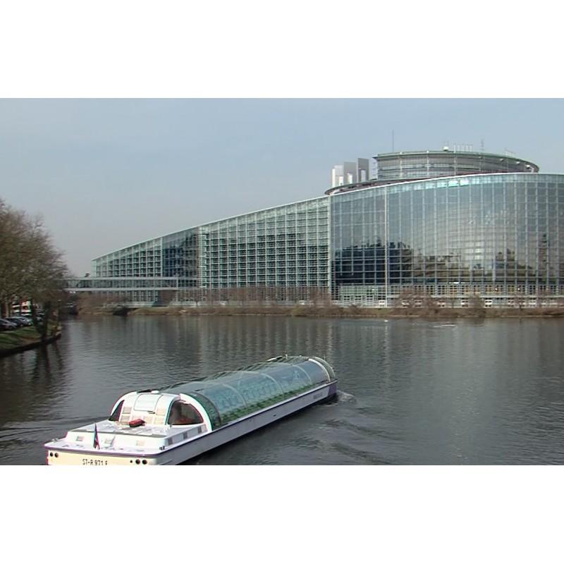 France - Strasbourg - European Parliament - buildings - politics - 2017
