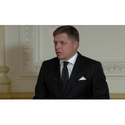 Aktualita - ČR - SR - politika - lidé - Robert Fico - reakce na terorismus
