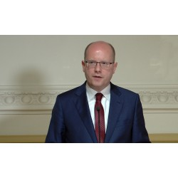 Aktualita - ČR - politika - lidé - Bohuslav Sobotka - reakce na terorismus