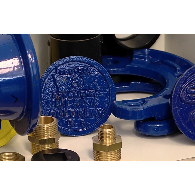 CR - industry - pipe fitter - water pipe - valve - flange - tube