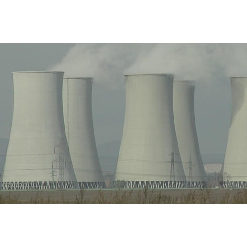 Slovakia - Jaslovské Bohunice - industry - technology - nuclear power plant - atom - cooling tower
