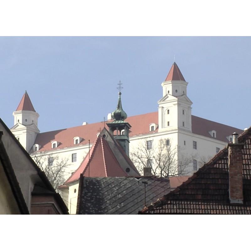 Slovakia - Bratislava - city - Dunaj - river - bridge - airport