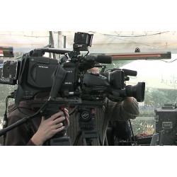 ČR - média - kameraman - fotograf - novináři - volby