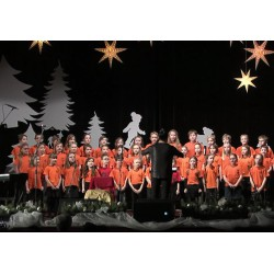 CR - education - school - Christmas concert - children - singing