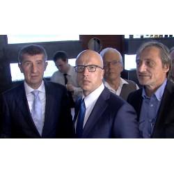 ČR - strana ANO - Andrej Babiš - Pavel Telička - Martin Stropnický