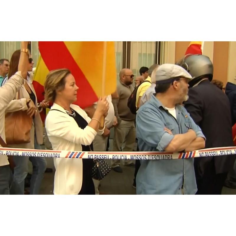 Španělsko - Katalánsko - demonstrace - vláda