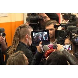ČR - média - parlamentní volby - novináři - 2017