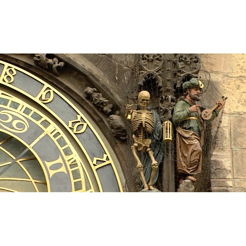 CR - Prague - Astronomical clock - Old Town Square