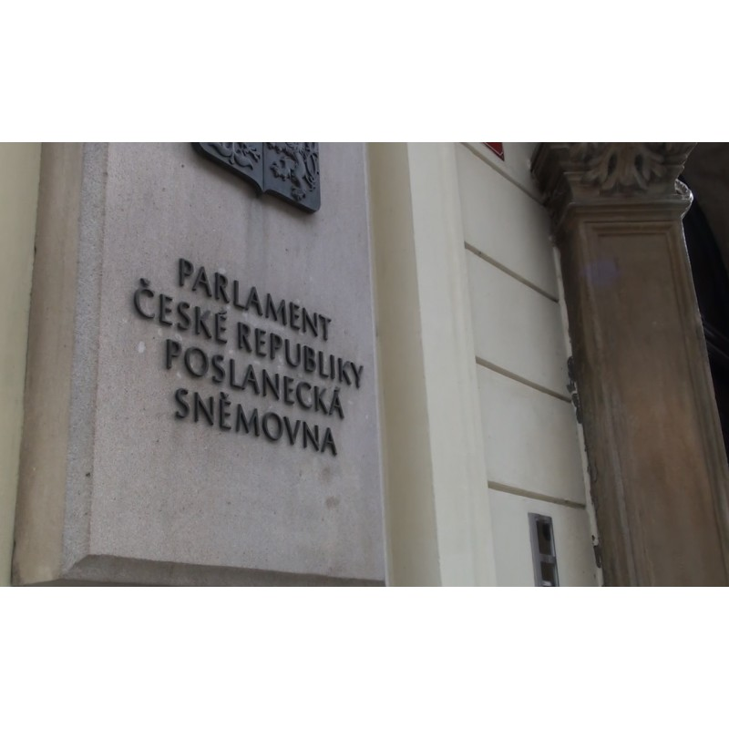 CR - Prague - buildings - Chamber of deputies - parliament