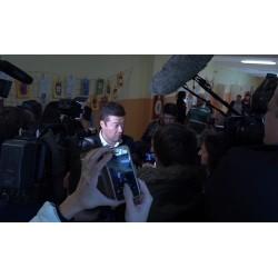 ČR - politika - média - lidé - SPD - Tomio Okamura - novináři - volby