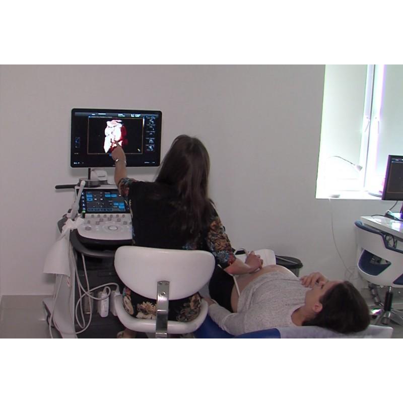 CR - health care - gynecology - examination - ultrasound - Natálie Kocábová