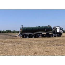 ČR - doprava - zemědělství - cisterna - nádrž - fekální vůz - fekálie - pole