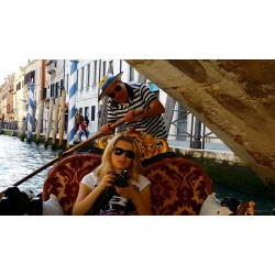 Italy - Venice - Boating - Gondola - Waterways