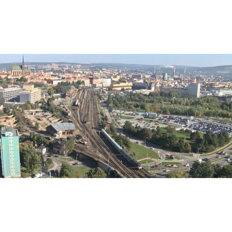 CR - Brno - Trains - Tracks