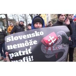 ČR - SR - Praha - aktuality - politika - Fico - Kaliňák - ambasáda - protesty - Jan Kuciak