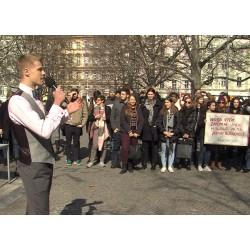 ČR - Praha - aktuality - politika - student - protest - stávka - vysoká škola - univerzita - vláda