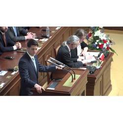 CR - news - USA - Prague - Paul Ryan - chamber of deputies