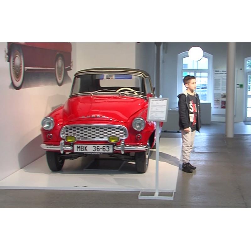 CR - Mladá Boleslav - transport - motoring - Škoda - historical cars - classic car - museum