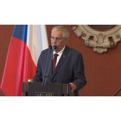 ČR - politika - Prezident Miloš Zeman - Andrej Babiš - jmenování premiérem - nová vláda