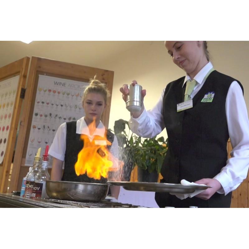 CR - education - baker - cook - confectioner - waiter - waitress - kitchen - meal