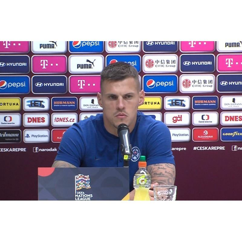 CR - sport - football - press conference - stadium - Eden - Pavel Hapal - Martin Škrtil - training