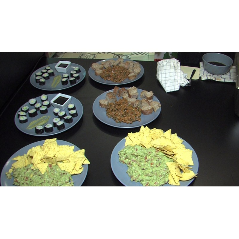 CR - trade - cooking - no-waste - cuisine - tasting - service - cooker - vegan - vegetarian