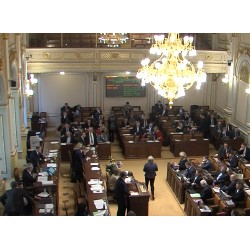 CR - Prague - politics - chamber of deputies - church - restitution - taxation - voting