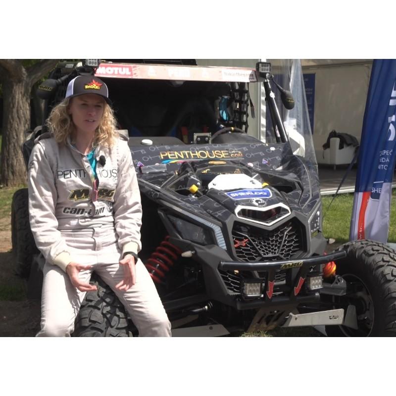 CR - sport - motoring - Rally Dakar - Olga Roučková - racer - four wheel drive - Can Am Maverick XRS
